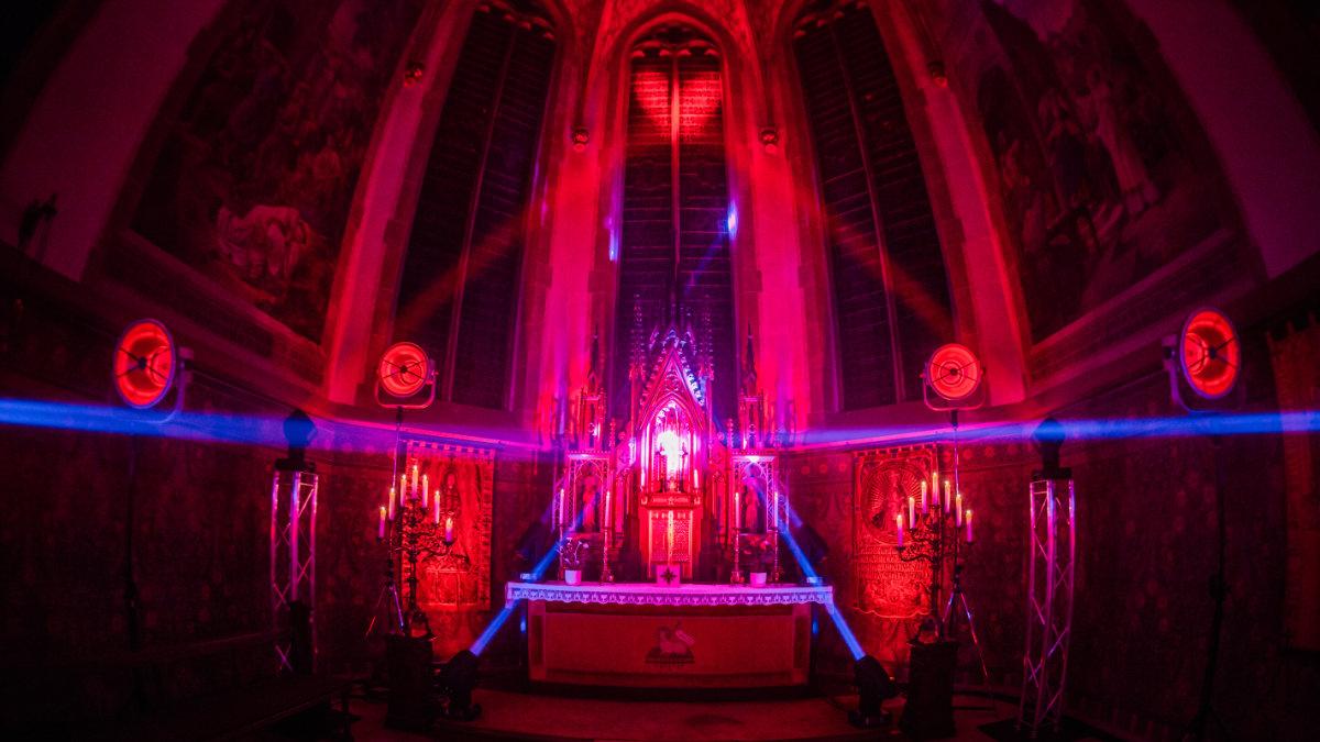 Magic Sound Veranstaltungstechnik illuminiert die St. Stephanus Kirche