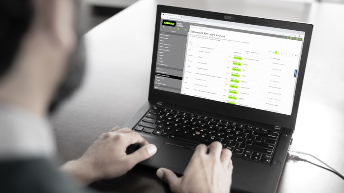 Shure launcht das Tech Portal