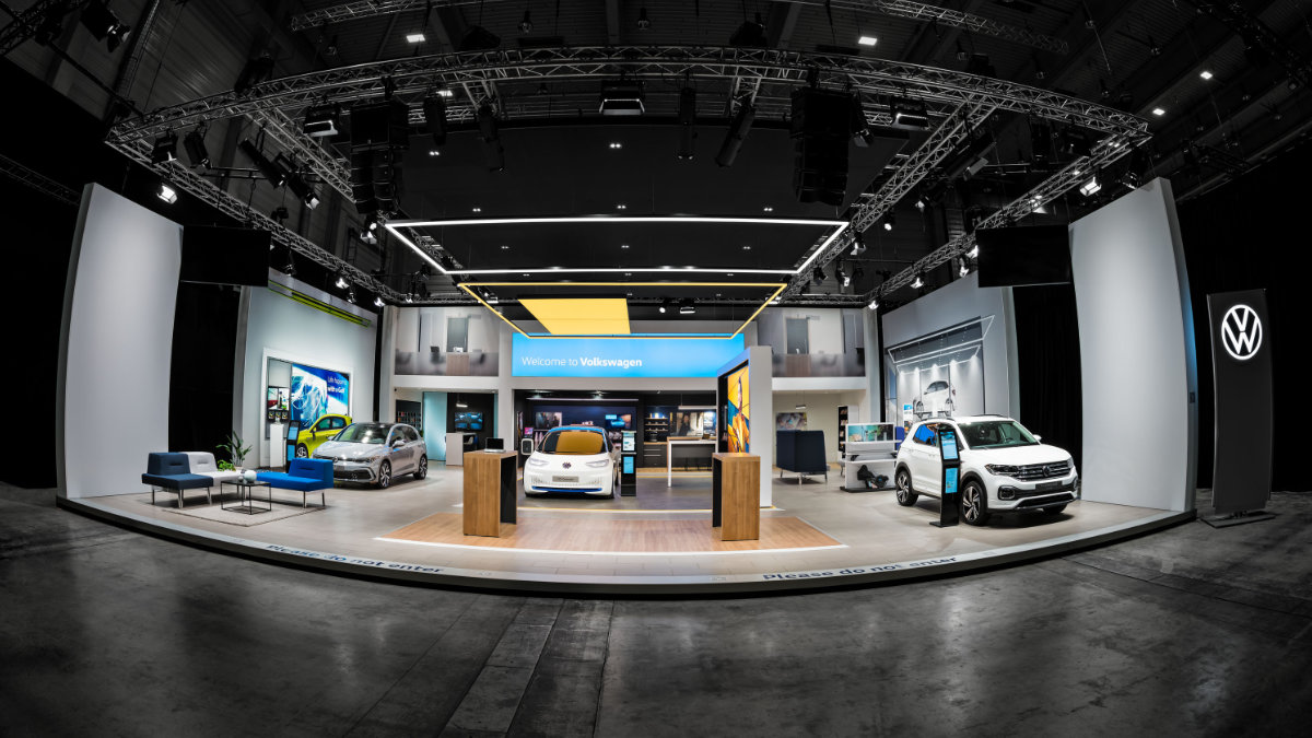 CHAUVET Professional bei den Volkswagen Brand Experience Days
