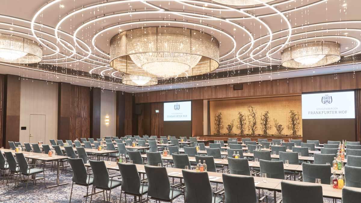 ASC stattet den Steigenberger Frankfurter Hof mit Medientechnik aus