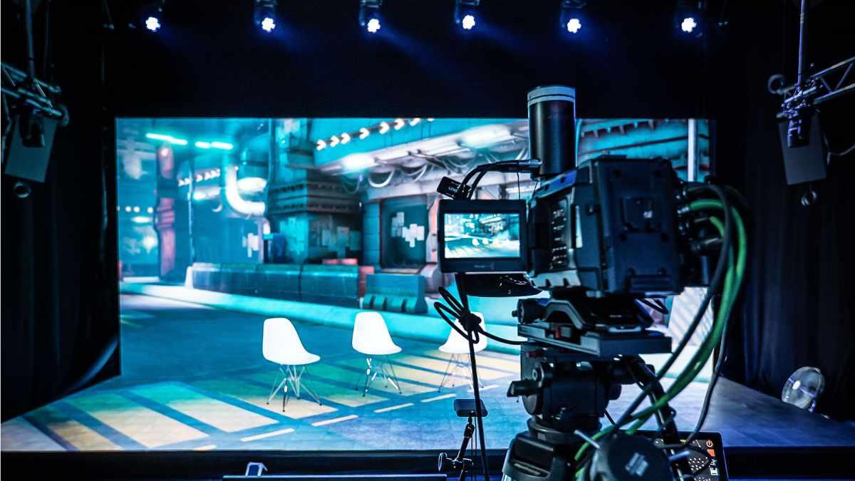 ROBE im neuen Streaming-XR-Studios von bright!