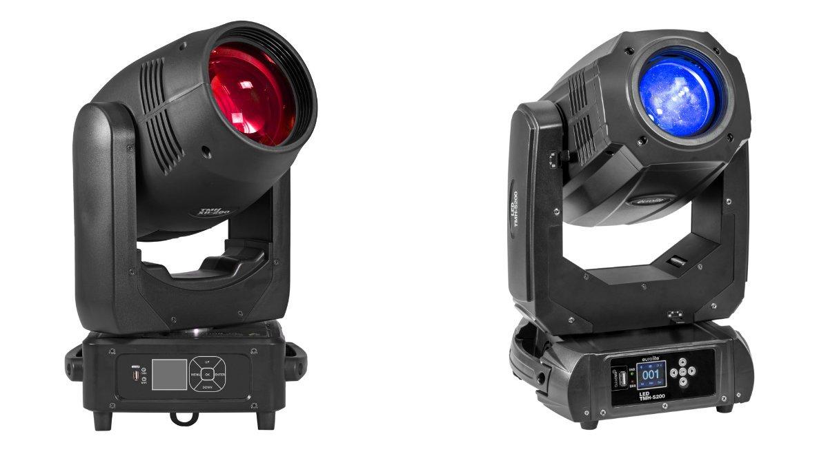 Eurolite präsentiert den LED TMH S200 und den TMH XB-280