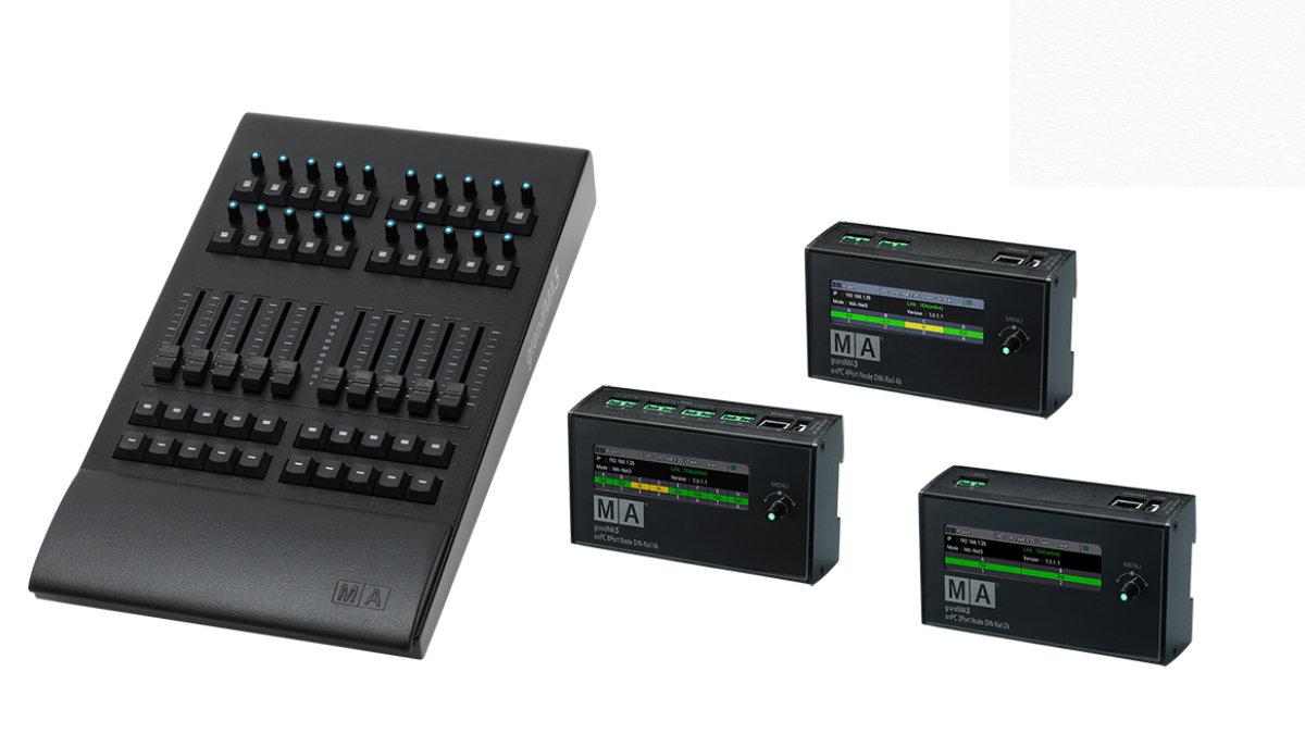 MA Lighting stellt neue Produkte für grandMA3 onPC Solutions vor