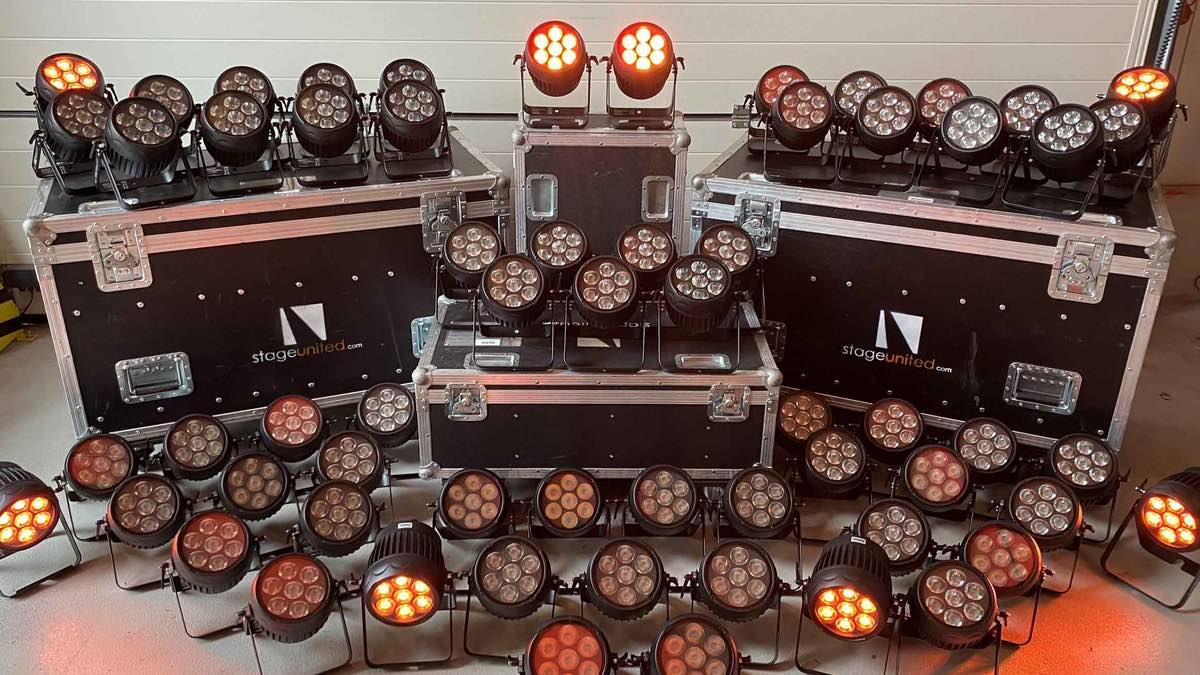 StageUnited investiert in wetterfeste LED-Pars von LITECRAFT