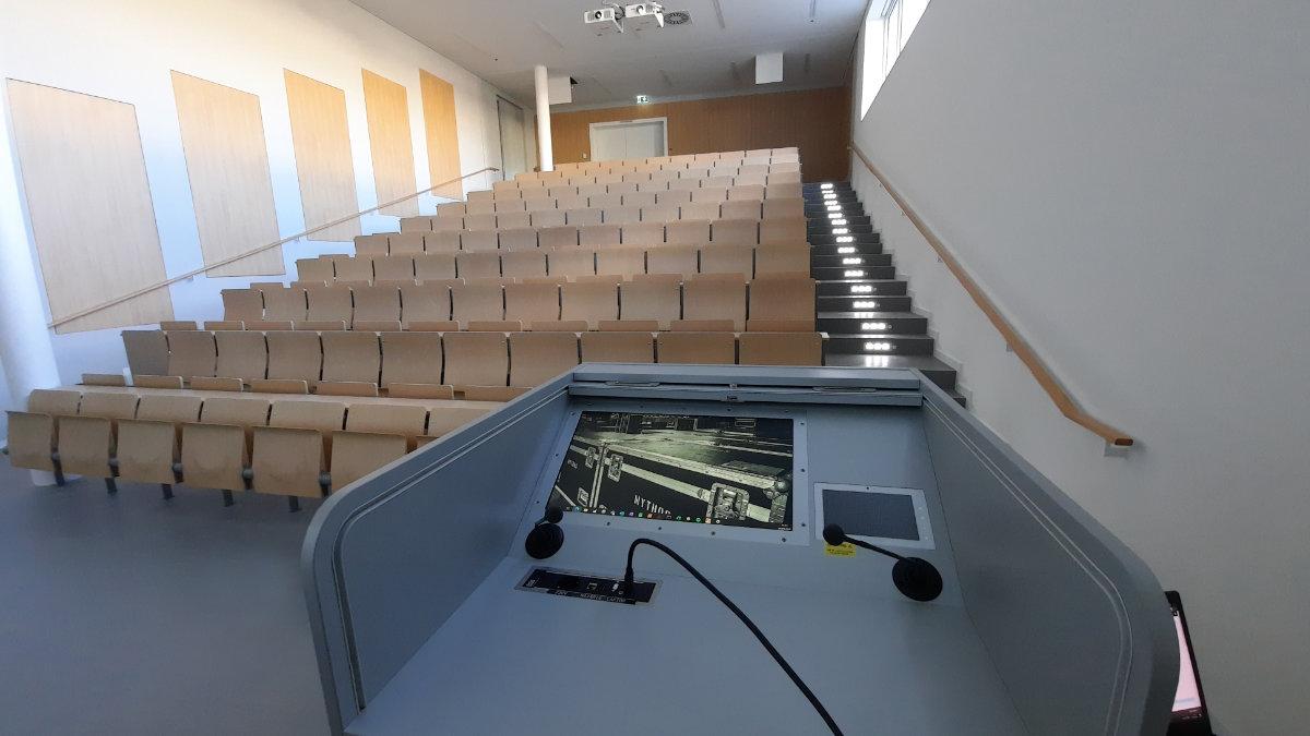 ASC stattet den Neubau der Universität des Saarlandes mit Medientechnik aus