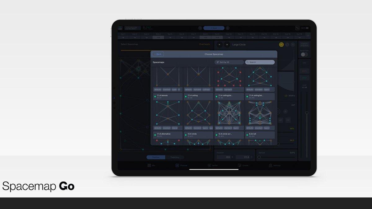 Spacemap Go von Meyer Sound steht zum Download bereit