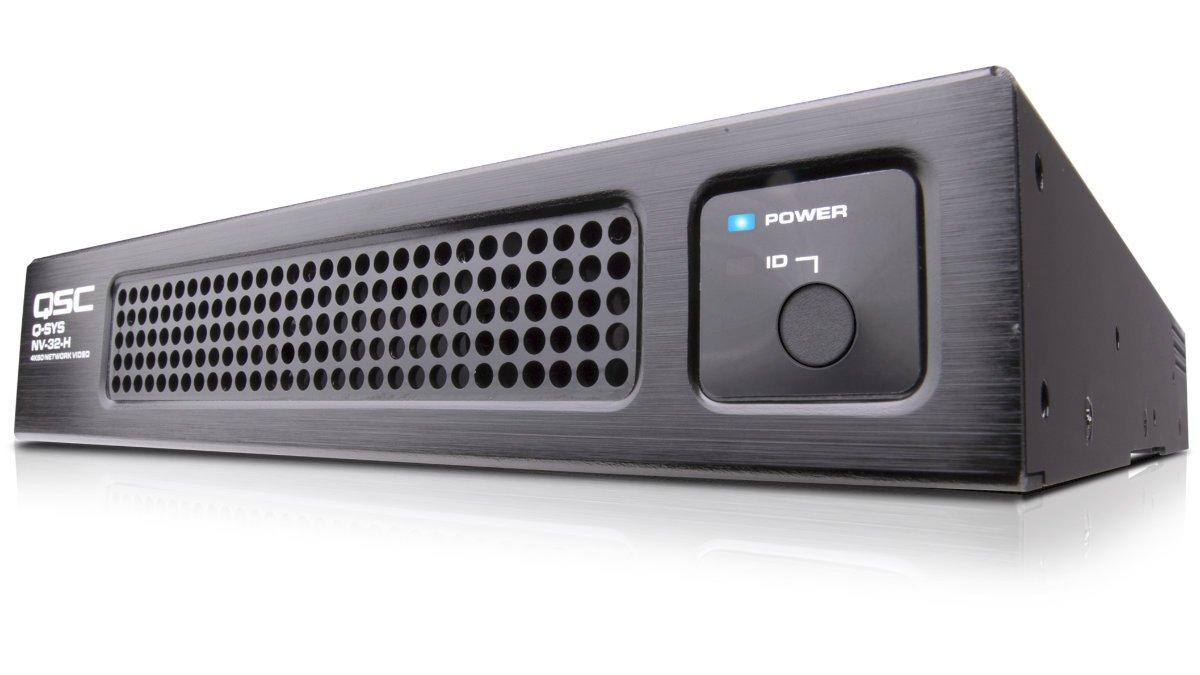 QSC stellt den Mehrzweck-Video-Endpunkt NV-32-H vor