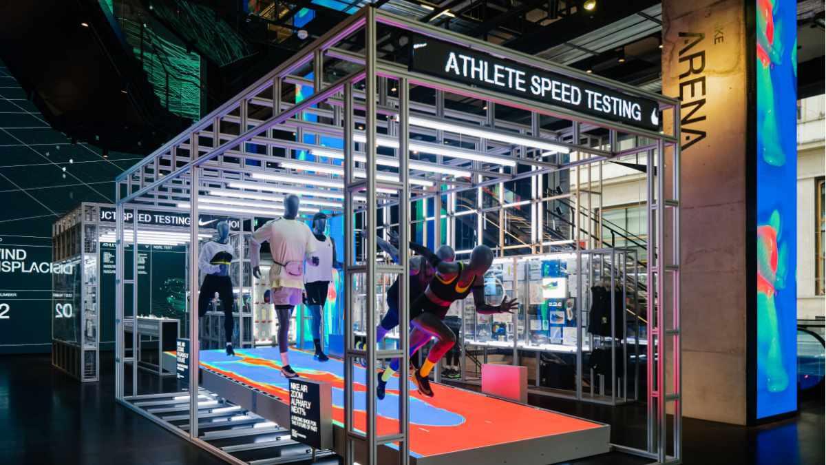 satis&fy liefert Touchpoints für das House of Innovation von Nike in Paris