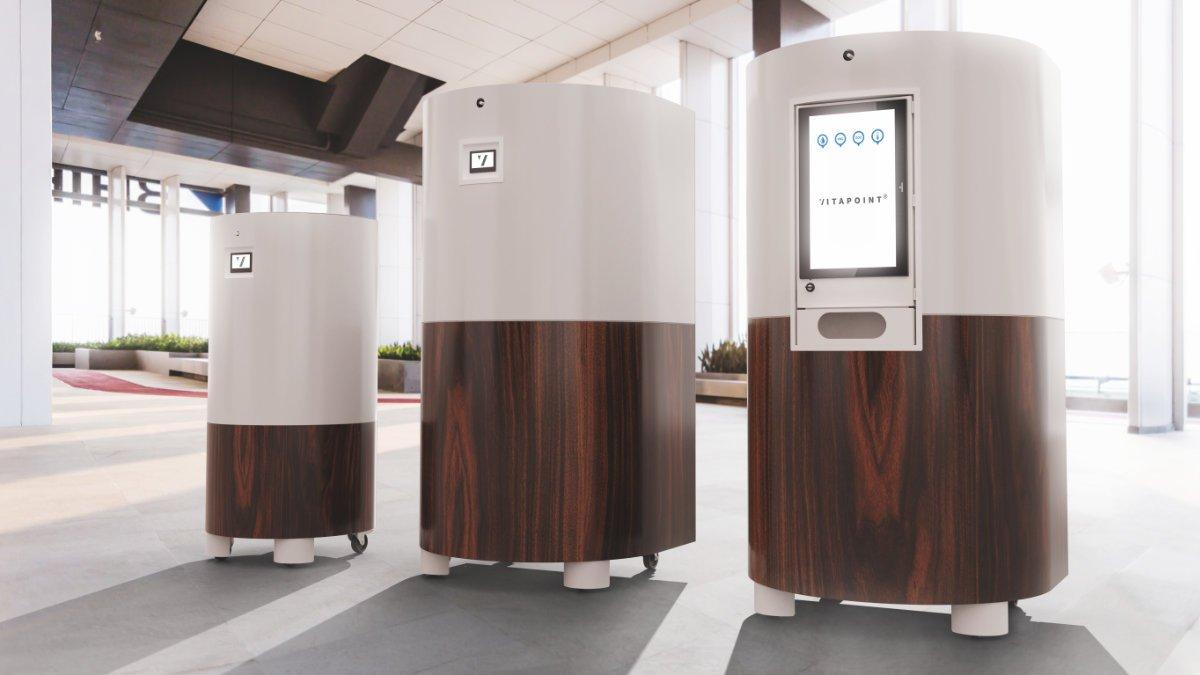 Huss Licht & Ton nimmt XTRACTION VITAPOINT Luftreiniger ins Programm