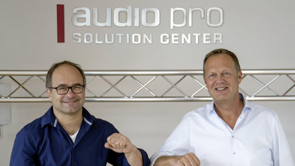 Audio Pro vertreibt Audinate in DACH