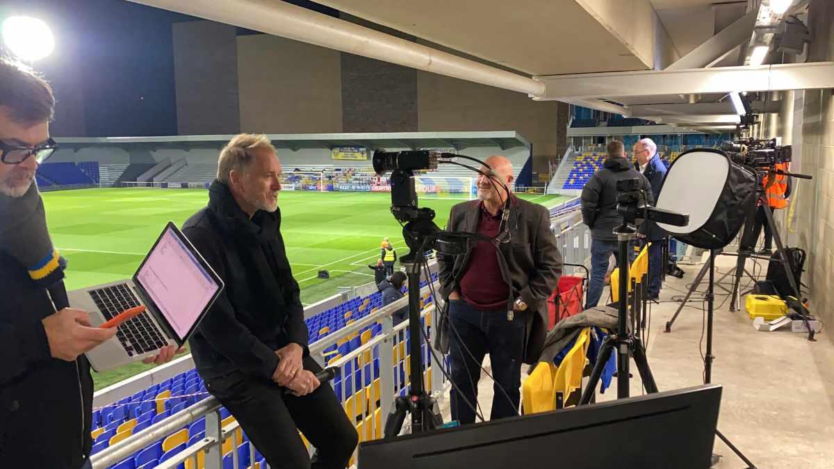Broadcast Solutions realisiert Remote Produktion für den AFC Wimbledon