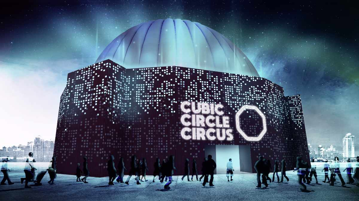 Cubic Circle Circus bietet sich als Corona-konforme Spielstätte an