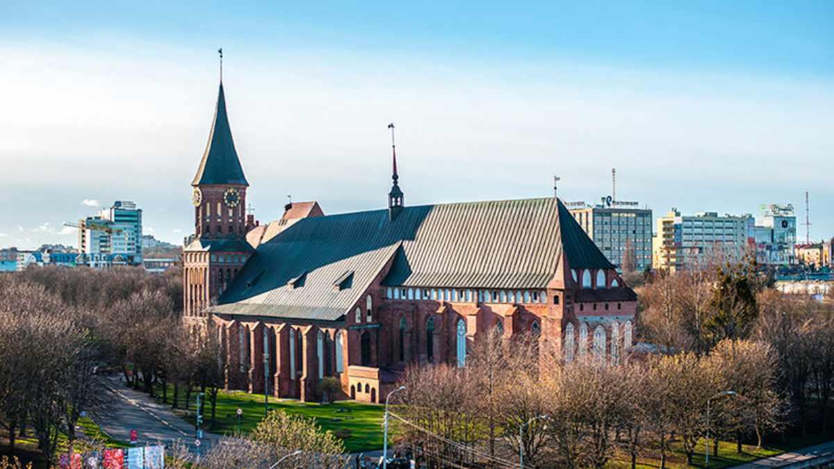 Die Kaliningrader Kathedrale setzt auf Kling & Freitag