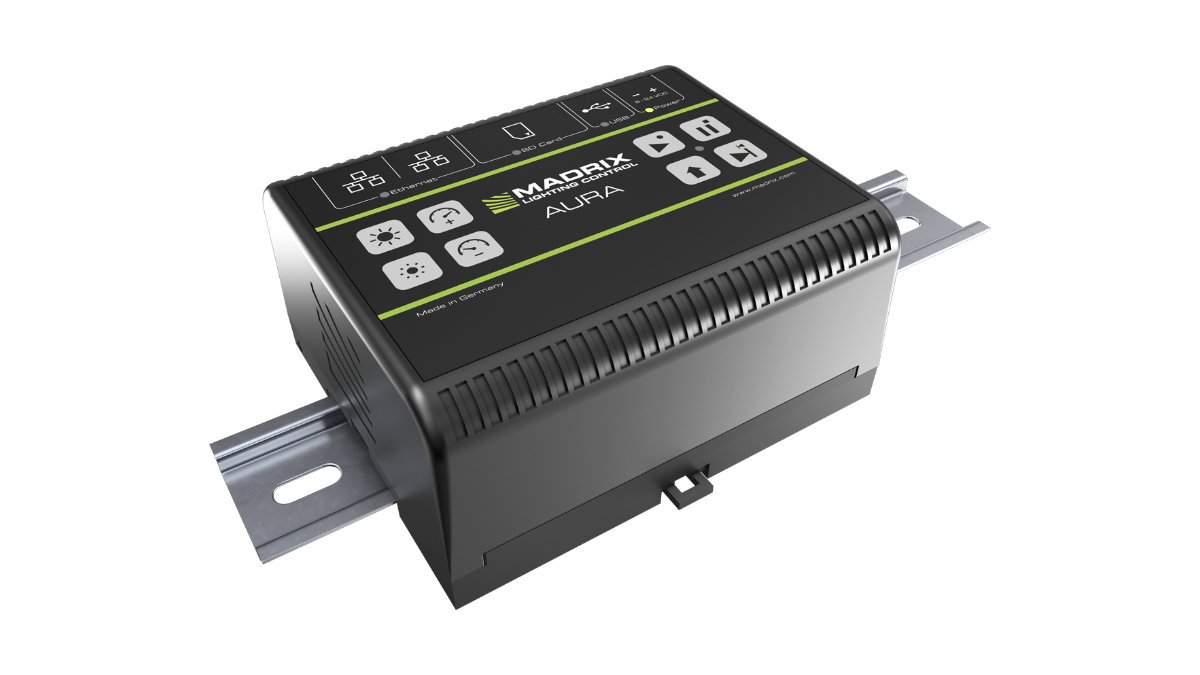 MADRIX AURA – Lichtsteuerung von SD-Karte