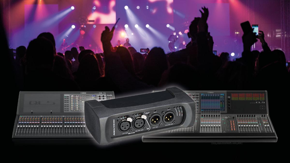 Yamaha CL/QL Serie integriert das NA2-IO-DPRO-Interface