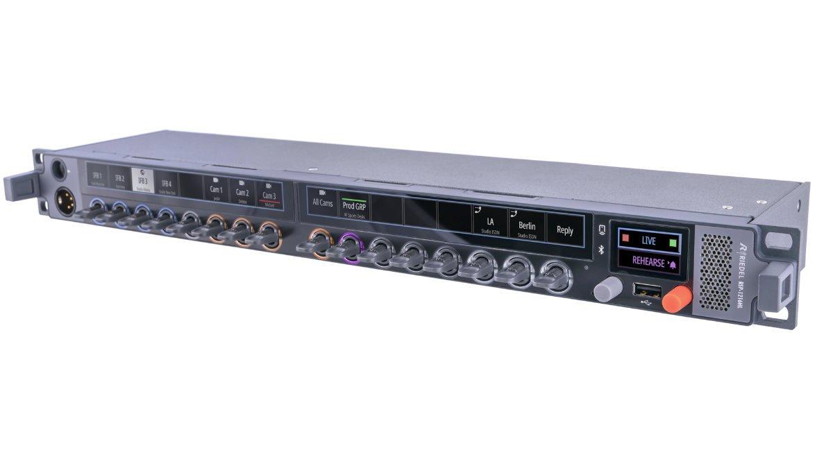 Riedel präsentiert das kompakte 1HE SmartPanel RSP-1216HL