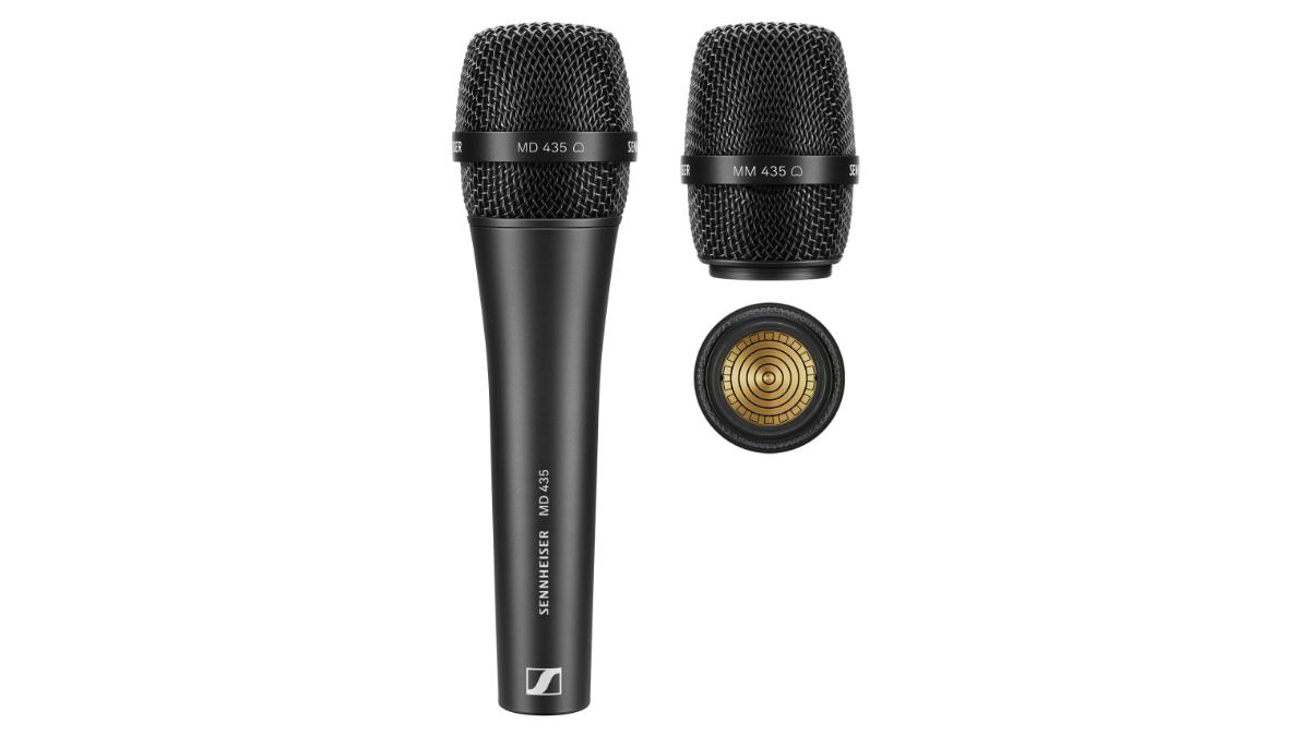 Sennheiser stellt das MD 435 Gesangsmikrofon vor