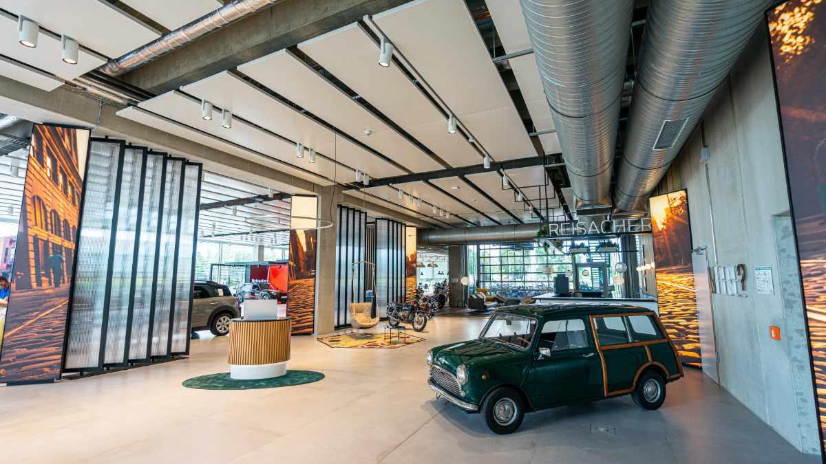 echion beschallt das Autohaus Reisacher mit Audio Pro Business