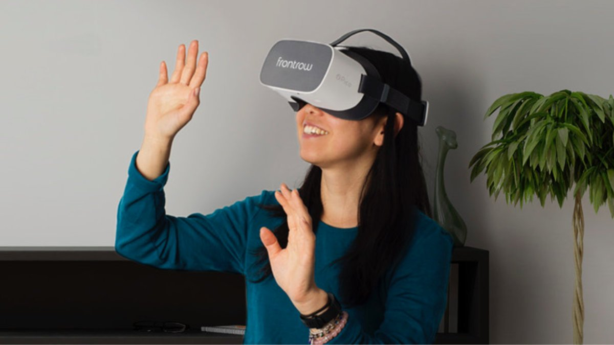 Inflight VR bringt neues frontrow Konzept auf den Markt