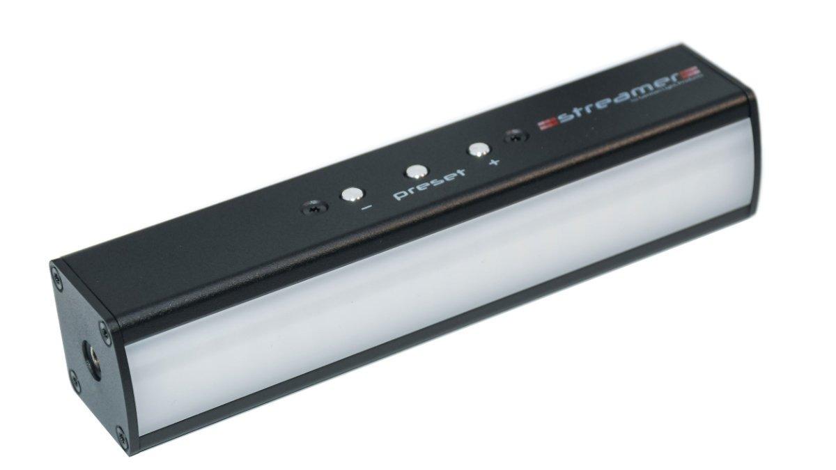 GLP präsentiert den Streamer für den Einsatz am Rechner