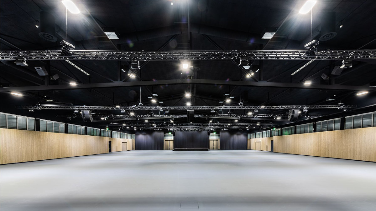 estec visions installiert L-Acoustics in den Eulachhallen
