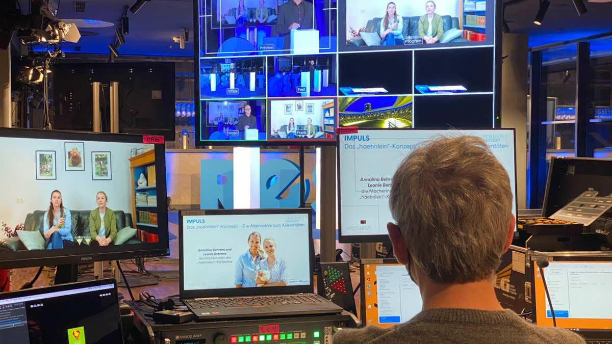 LLG setzt virtuelle Plattform für HORIZONT Restart 21 um