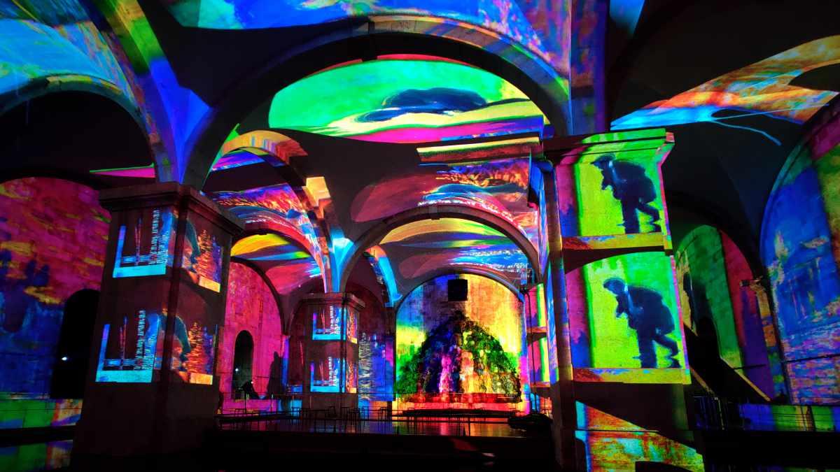 OCUBO verwendet PIXERA für Klimt- und Monet-Ausstellung
