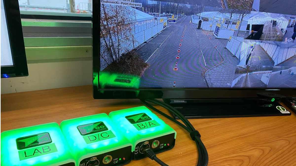 Green-GO liefert Signal-Lösung für Covid-19-Teststation