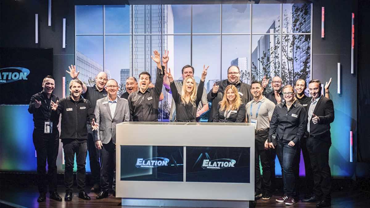 ELATION Professional Europe feiert 10-jähriges Jubiläum