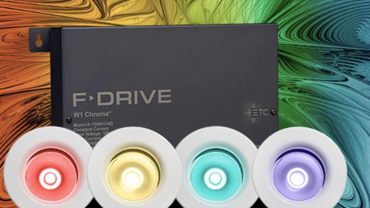 ETC F-Drive W1 Chroma bietet mehr Farbsteuerungs-Möglichkeiten