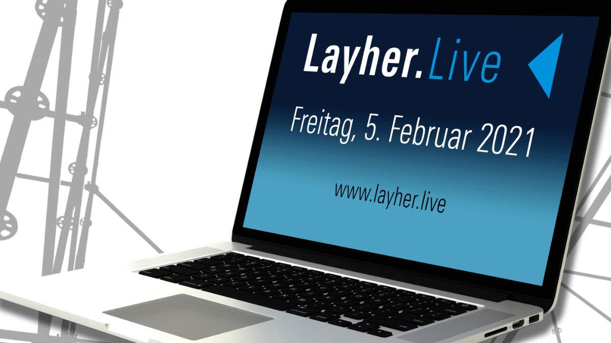 Layher startet die Webinarreihe Layher.Live