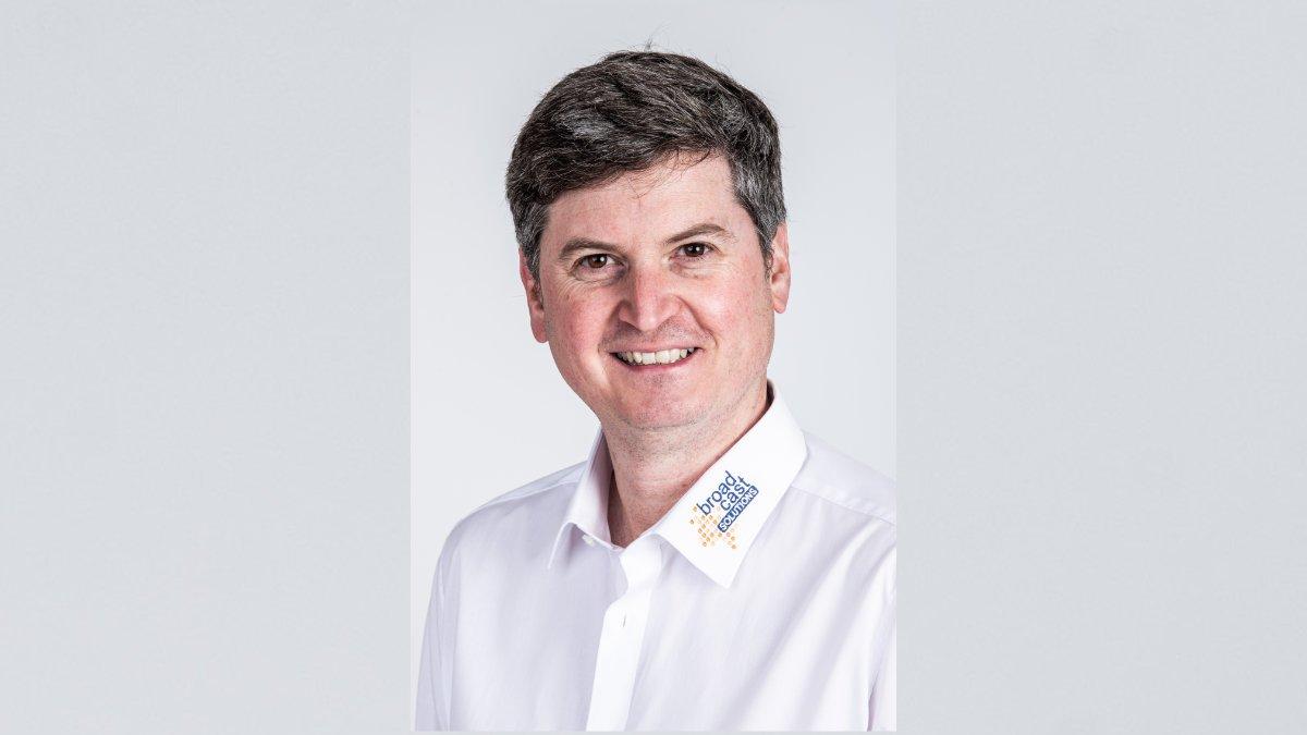 Martin Schwöri leitet Broadcast Solutions Produkte und Service