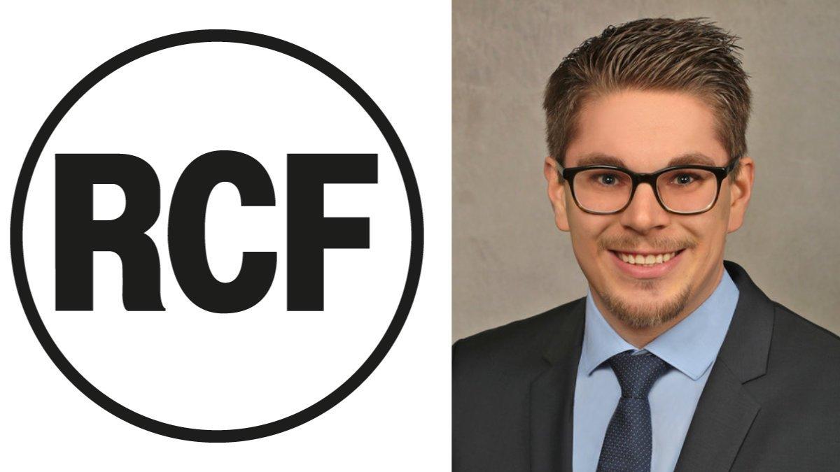 Sebastian Hayer ist neuer Sales Director bei RCF