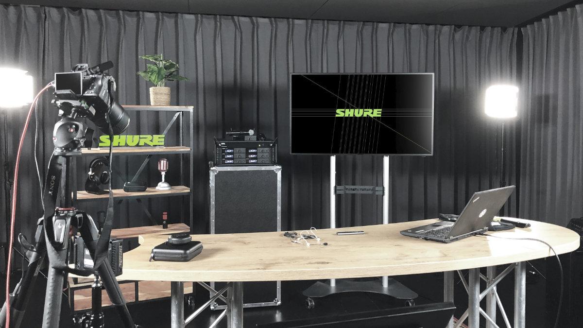 Das Shure Audio Institute mit neuen Webinaren