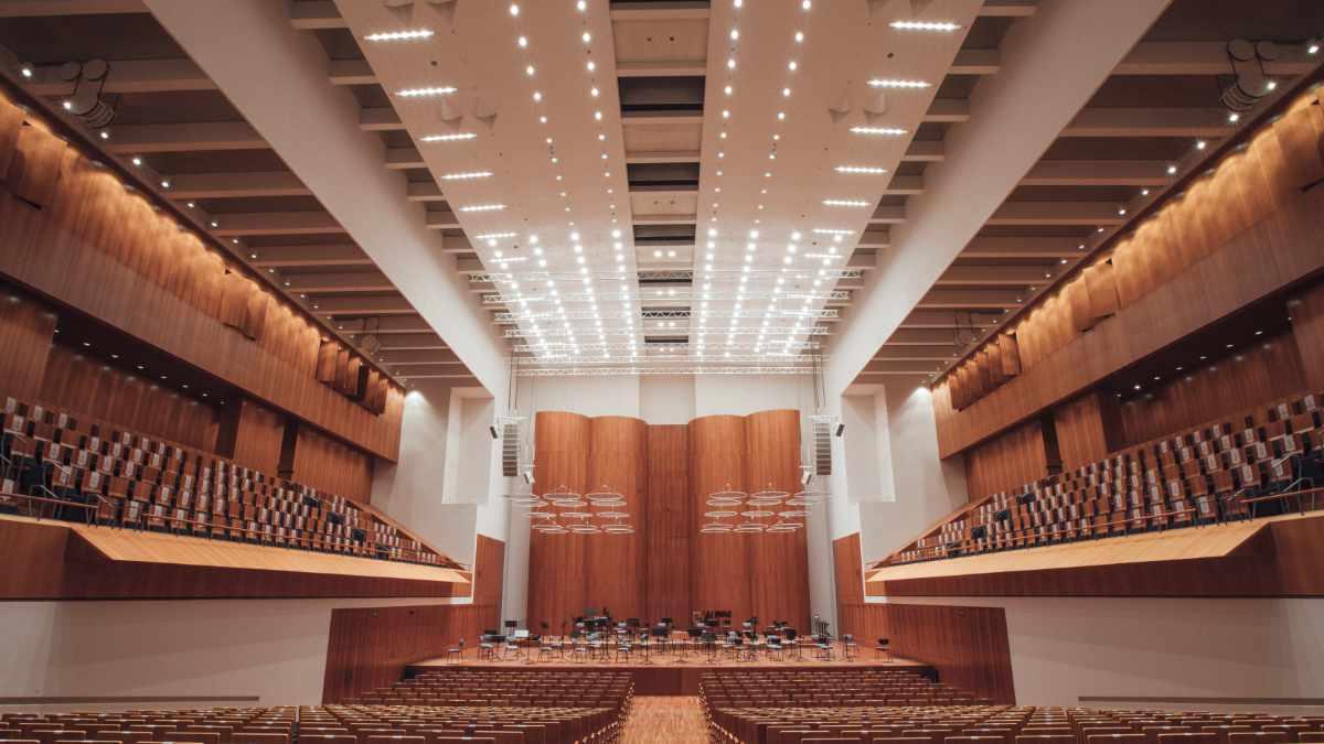 VisionTwo stattet das Konzerthaus Freiburg mit moderner Beleuchtung aus