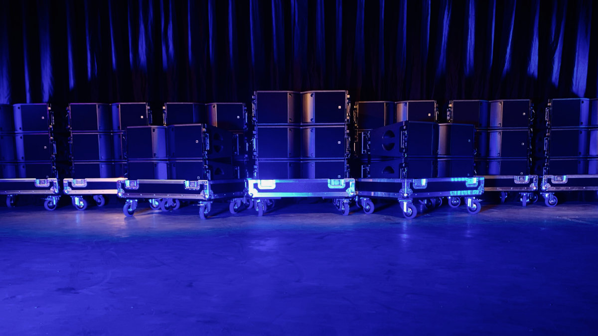 YOURSOLUTIONS vertraut auf L-Acoustics