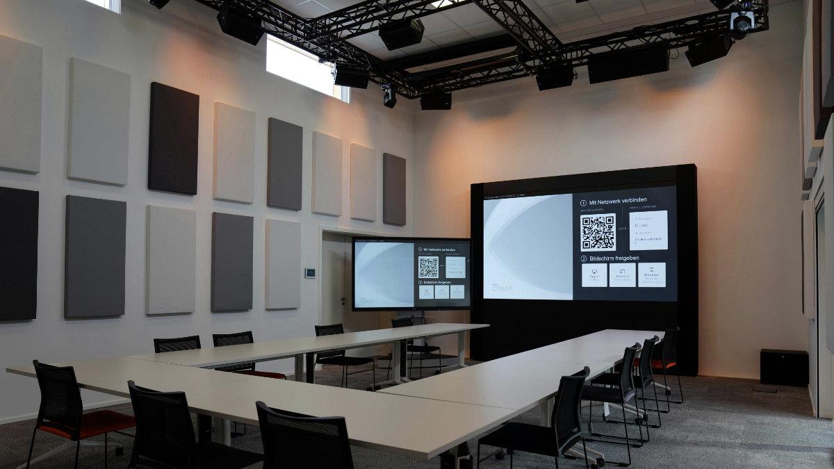 Franken Lehrmittel vertraut auf ein 3D Sound System von Meyer Sound