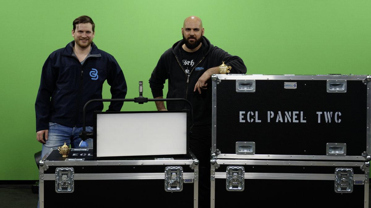 Gahrens + Battermann investiert in PROLIGHTS EclPanel TWC