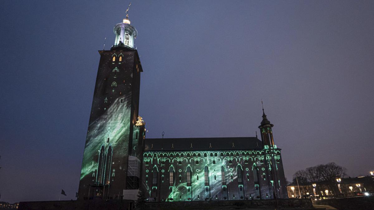 Panasonic Projektoren illuminieren das Stockholmer Rathaus