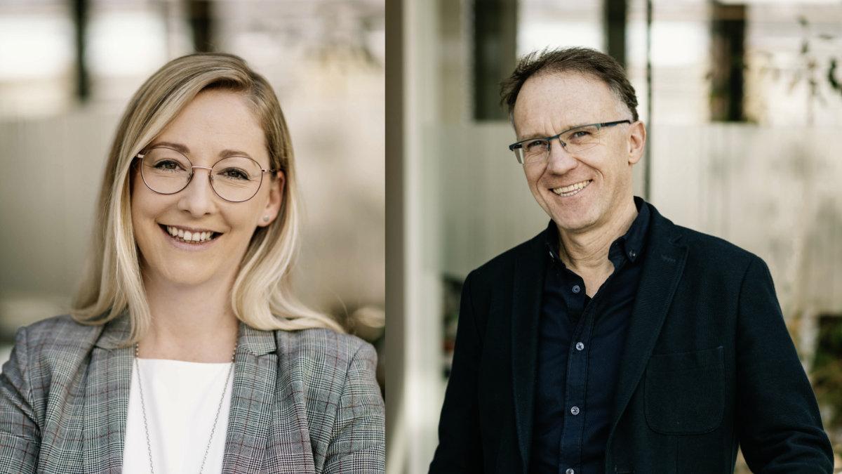 Stefanie Niederwimmer und Harry Gladow steigen bei AV Stumpfl auf