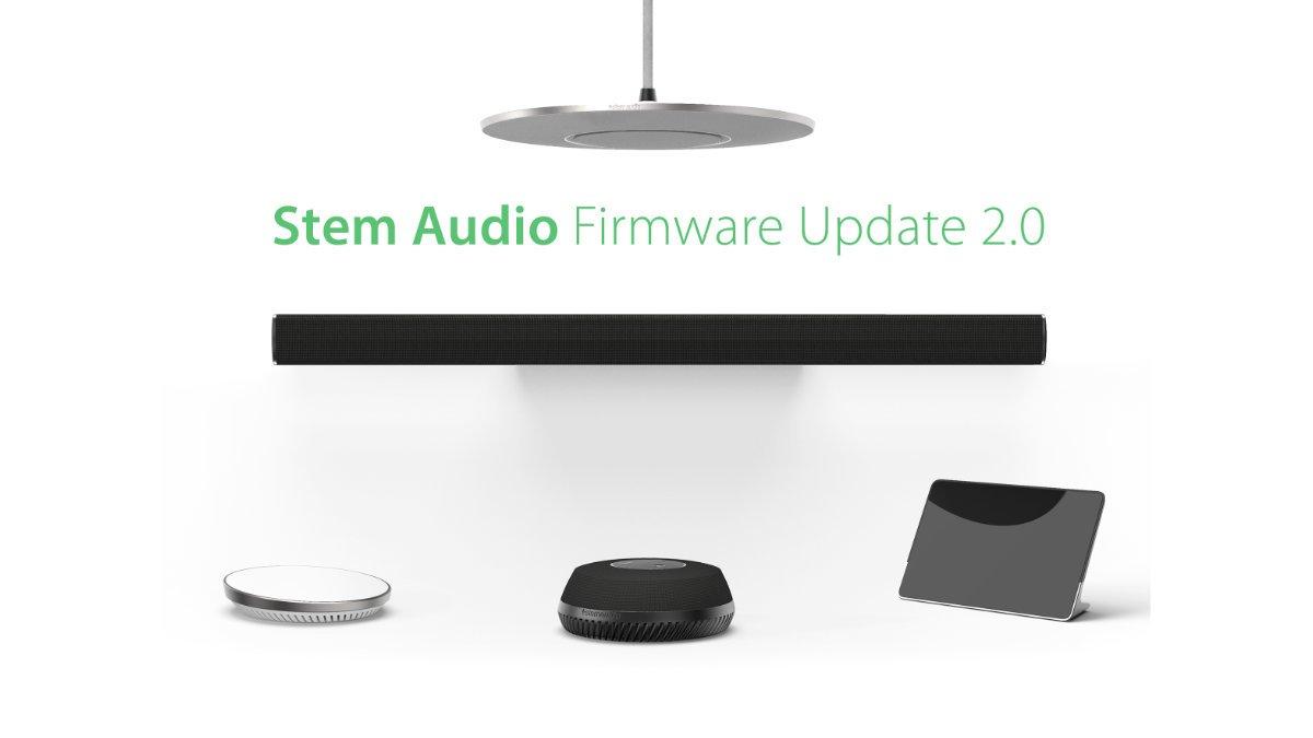 Software-Update 2.0 für das Stem Audio Konferenzsystem