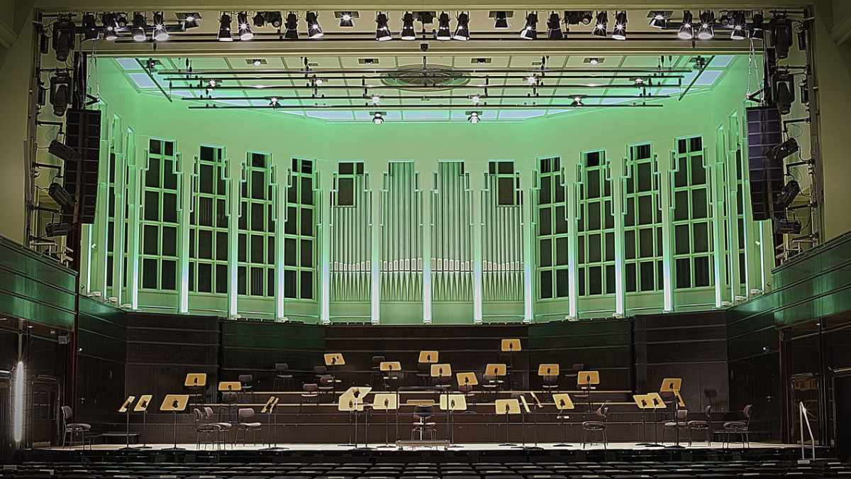 Die Glocke Bremen setzt auf LED-Beleuchtung von CHAUVET Professional