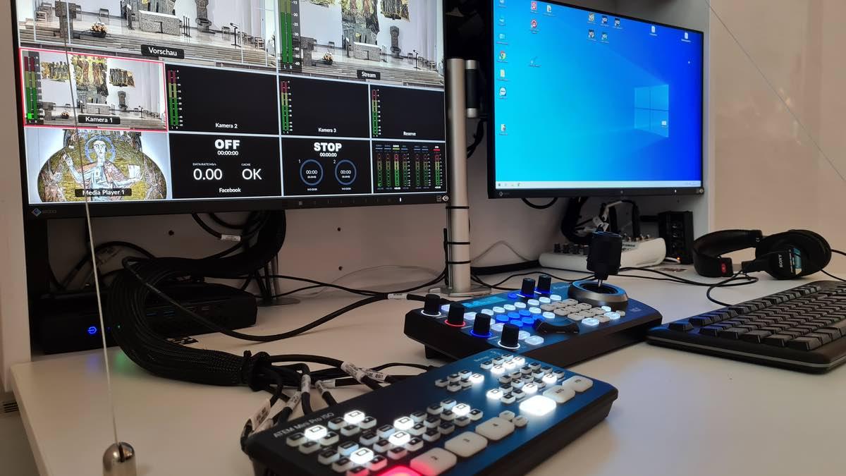 Streaming-Setup für Domkirche von Broadcast Solutions