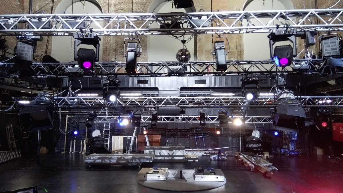 SolaFrame Studio im Münchner Marstall-Theater