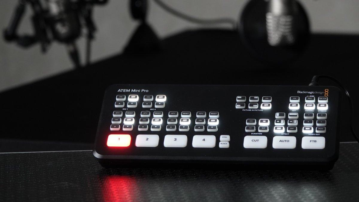 Huss Licht & Ton unterstützt Bosch Rexroth beim Livestreaming