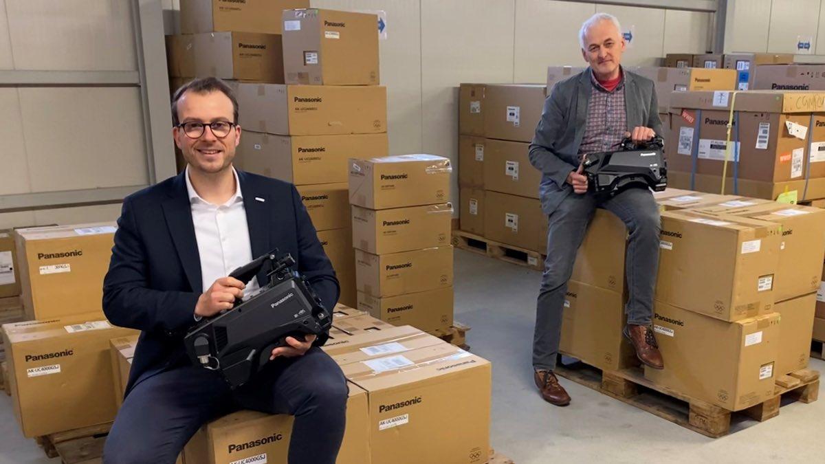 LANG AG investiert in Panasonic-Studiokameras