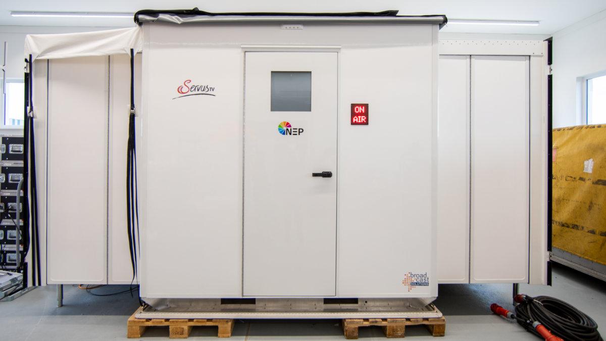 NEP Germany bezieht Luftfrachtcontainer zur Produktion der Formel 1