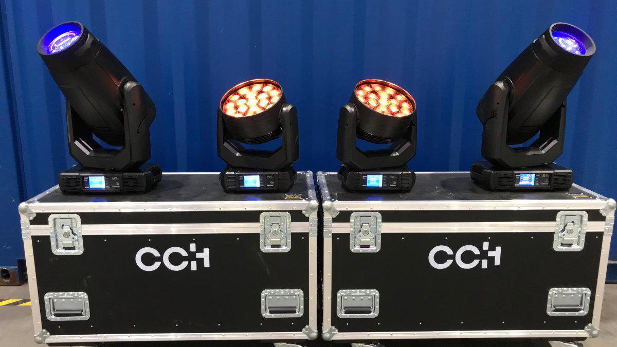 Das CCH – Congress Center Hamburg setzt auf ROBE