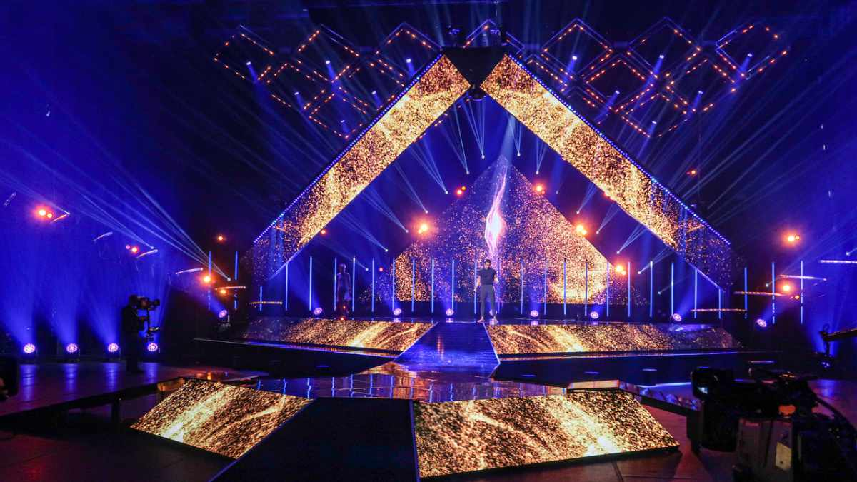 Eurovision Vorentscheid in Estland mit ChamSys umgesetzt