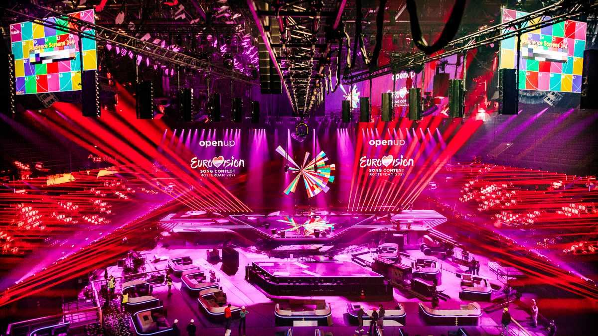 Claypaky freut sich auf den Eurovision Song Contest